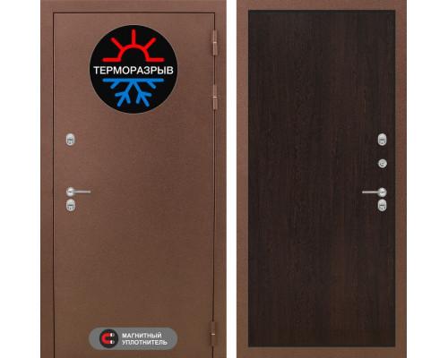 Входная дверь с терморазрывом Labirint Термо Магнит 05 Венге (двери с терморазрывом)
