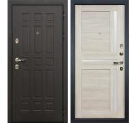 Входная металлическая дверь Лекс 8 Сенатор Баджио Ясень кремовый (панель №49)
