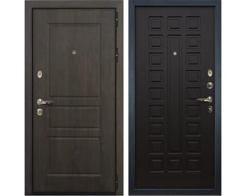Входная стальная дверь Лекс Сенатор Винорит Венге (панель №21)
