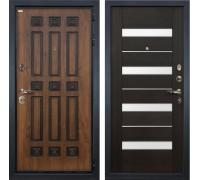 Входная металлическая дверь Лекс Гладиатор 3К Винорит Сицилио Венге (панель №51)