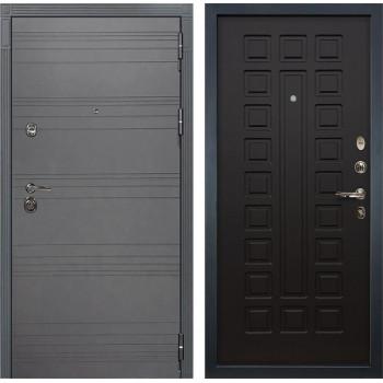Входная металлическая дверь Лекс Сенатор 3К Софт графит (№21 Венге)