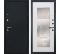 Входная металлическая дверь Лекс 2 Рим с Зеркалом Ясень белый (панель №37)