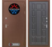 Входная дверь с терморазрывом Labirint Термо Магнит 12 Венге (уличная дверь с терморазрывом)