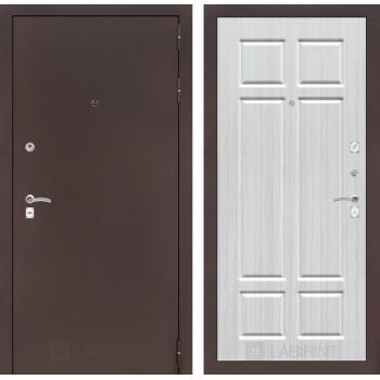 Входная дверь Labirint CLASSIC антик медный 08 - Кристалл вуд