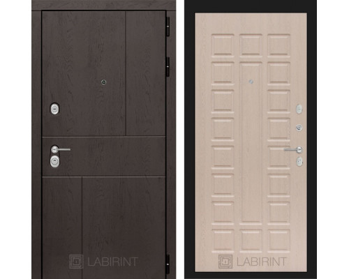 Входная дверь Labirint URBAN 04 Беленый дуб