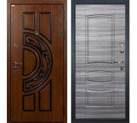 Входная металлическая дверь Лекс Спартак Cisa Сандал серый (панель №69)