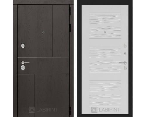 Входная дверь Labirint URBAN 06 Белое дерево