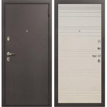 Входная стальная дверь Лекс 1А (№63 Дуб фактурный кремовый)