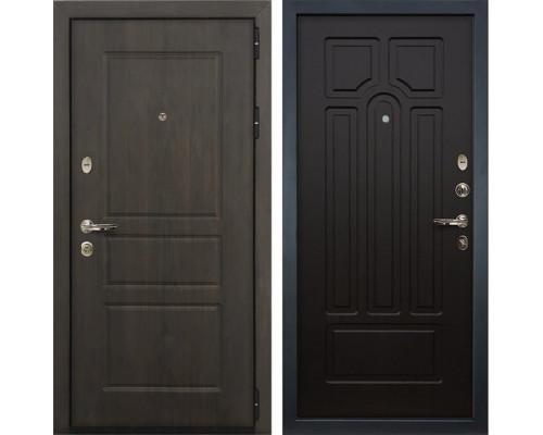 Входная стальная дверь Лекс Сенатор Винорит Венге (панель №32)