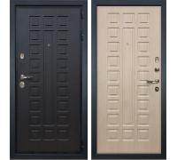 Входная металлическая дверь Лекс Гладиатор 3К Дуб беленый (панель №20)