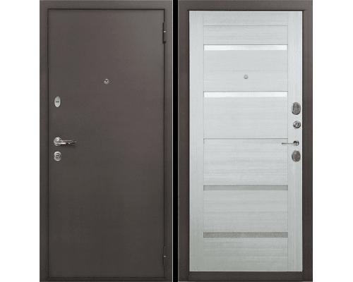 Входная стальная дверь Лекс 1А Клеопатра-2 (№58 Дуб беленый)