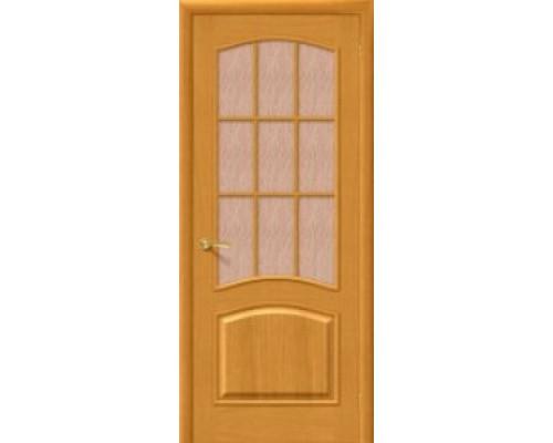Межкомнатная шпонированная дверь Капри 3 ПО дубнат