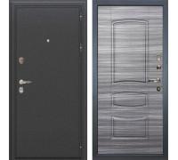 Входная металлическая дверь Лекс Колизей Сандал серый (панель №69)