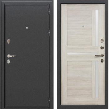 Входная металлическая дверь Лекс Колизей Баджио Ясень кремовый (панель №49)