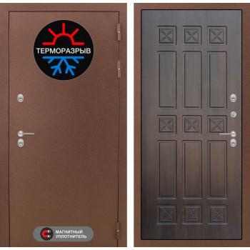 Входная дверь с терморазрывом Labirint Термо Магнит 16 Алмон 28 (уличные двери с терморазрывом)