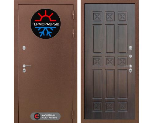 Входная дверь с терморазрывом Labirint Термо Магнит 16 Алмон 28