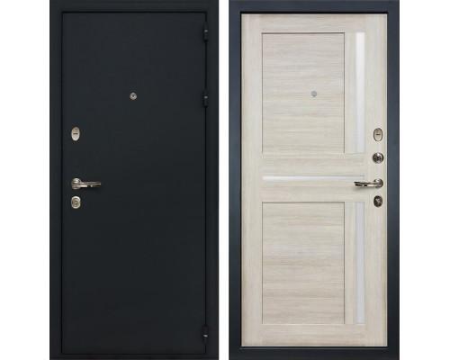 Входная металлическая дверь Лекс Рим Баджио Ясень кремовый (панель №49)