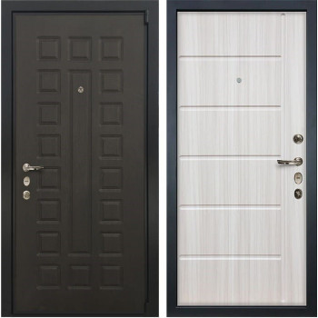 Входная металлическая дверь Лекс 4А Неаполь Mottura Сандал белый (панель №42)