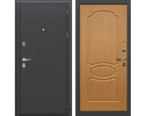 Входная металлическая дверь Лекс Колизей Дуб натуральный (панель №15)