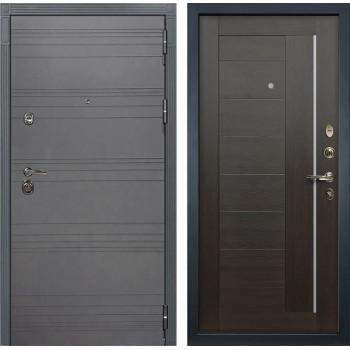 Входная дверь Лекс Сенатор 3К Софт графит Верджиния (№39 Венге)