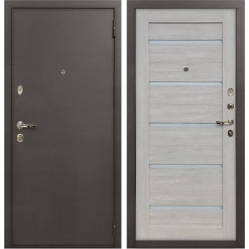 Входная стальная дверь Лекс 1А Клеопатра-2 (№66 Ясень кремовый)