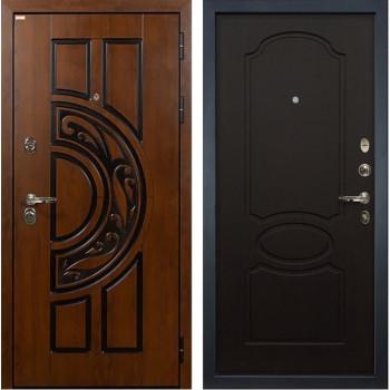 Входная металлическая дверь Лекс Спартак Cisa Венге (панель №13)