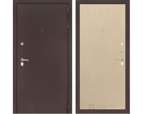 Входная дверь Labirint CLASSIC антик медный 05 Венге светлый