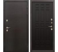 Входная металлическая дверь с терморазрывом Лекс Термо Сибирь 3К Венге (панель №29)