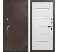 Входная металлическая дверь Лекс 5А Цезарь Ясень белый (панель №34)