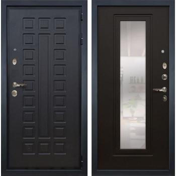 Входная металлическая дверь Лекс Гладиатор 3К с Зеркалом Венге (панель №22)