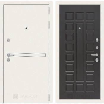 Входная дверь Labirint Лайн WHITE 04 Венге