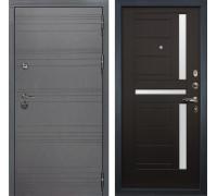Входная металлическая дверь Лекс Сенатор 3К Софт графит (№35 Венге)