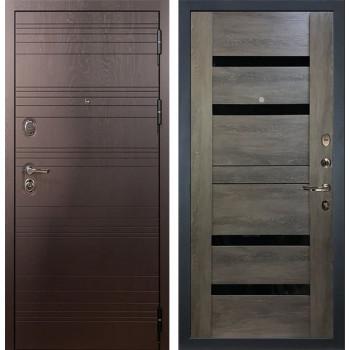 Входная металлическая дверь Лекс Легион Неро Графит Шале (панель №65)