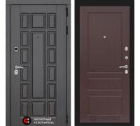 Входная дверь Labirint Нью-Йорк 03 - Орех премиум