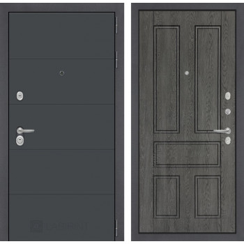 Входная дверь Labirint ART графит 10 Дуб филадельфия графит