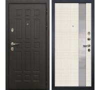 Входная металлическая дверь Лекс 8 Сенатор Новита Дуб беленый (панель №52)