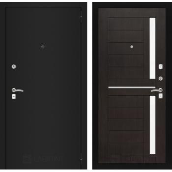 Входная дверь CLASSIC шагрень черная 02 Венге