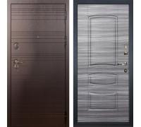 Входная металлическая дверь Лекс Легион Сандал серый (панель №69)