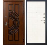Входная металлическая дверь Лекс Спартак Cisa Ясень белый (панель №56)