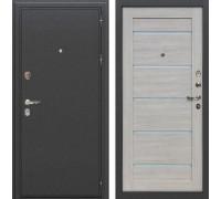 Входная металлическая дверь Лекс Колизей Клеопатра-2 Ясень кремовый (панель №66)