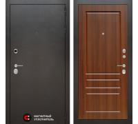 Входная дверь Labirint SILVER 03 - Орех бренди
