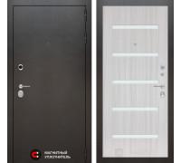 Входная дверь Labirint SILVER 01 - Сандал белый