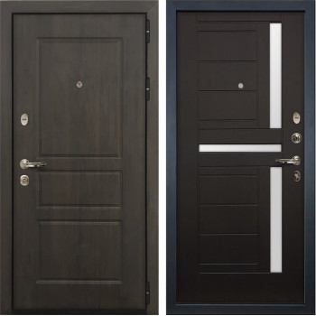 Входная стальная дверь Лекс Сенатор Винорит Венге (панель №35)