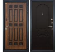 Входная металлическая дверь Лекс Гладиатор 3К Винорит Венге (панель №13)