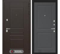 Входная дверь Labirint Мегаполис 11 - Графит софт
