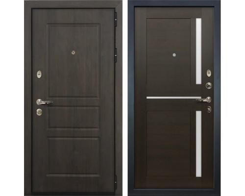 Входная стальная дверь Лекс Сенатор Винорит Баджио Венге (панель №50)