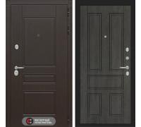 Входная дверь Labirint Мегаполис 10 - Дуб филадельфия графит