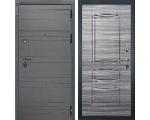 Входная дверь Лекс Сенатор 3К Софт графит (№69 Сандал серый)