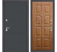 Входная дверь Labirint ART графит 17 Золотой дуб
