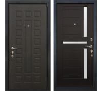 Входная металлическая дверь Лекс 4А Неаполь Mottura Венге (панель №35)